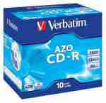 CD-R Verbatim SUPER AZO 700MB 52x slim box