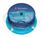 CD-R Verbatim SUPER AZO 700MB 52x 25-cake