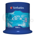 CD-R Verbatim SUPER AZO 700MB 52x 100-cake
