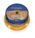 DVD-R Verbatim Advanced AZO 4,7 GB 16x 25-cake